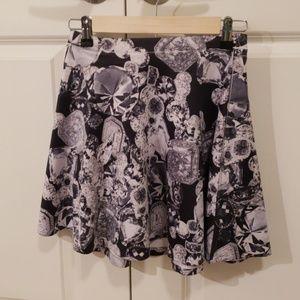 Forever 21 high waisted jewel skirt